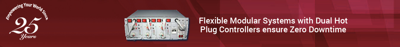 Flexible Modular Systems with Dual Hot Plug Controllers ensure Zero Downtime